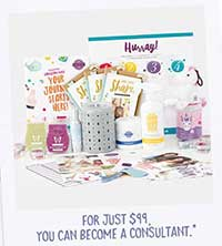 example of Scentsy Start Up Kit