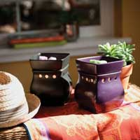 Two Classic Scentsy Warmers