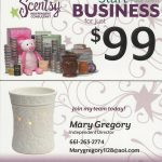 Contact Scentsy Independent Director Mary Gregory. 661-210-7617
