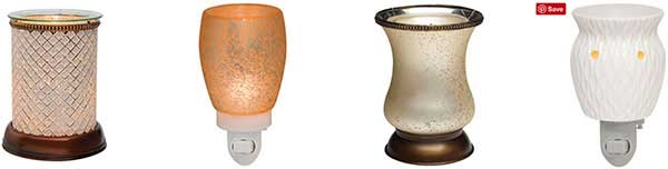 Four Different Scentsy Warmers
