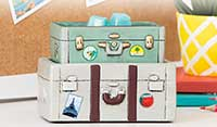 Cute suitcase warmer by Scentsy Released in Summer 2017