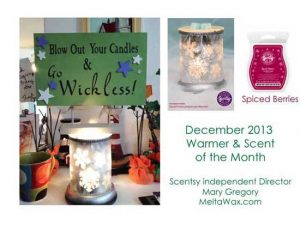 Scentsy WOTM and SOTM for Dec 2013