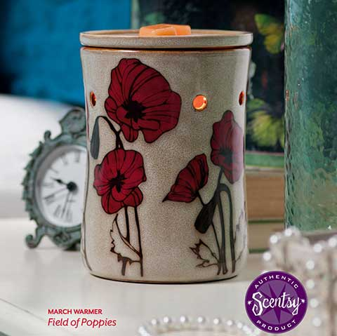 March 2015 Warmer of the Month - Field of Poppies