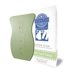 White Tea and Cactus Dryer Disk