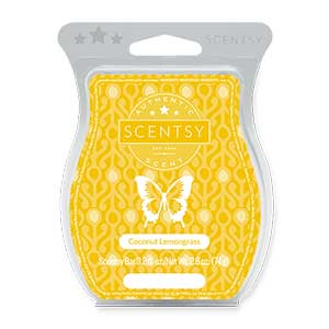 Coconut Lemongrass Scentsy Bar - Wax Melt