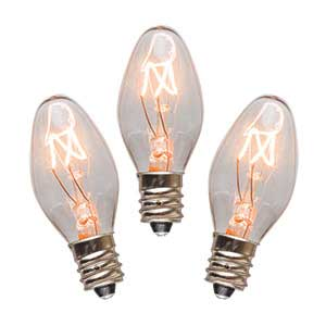 Scentsy 3 Pack of 15 Watt Bulbs for Night Lights