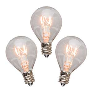 Scentsy 3 Pack of 20 Watt Bulbs