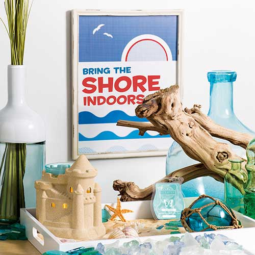 Bring the Shore Indoors with the New Sandcastle Warmer