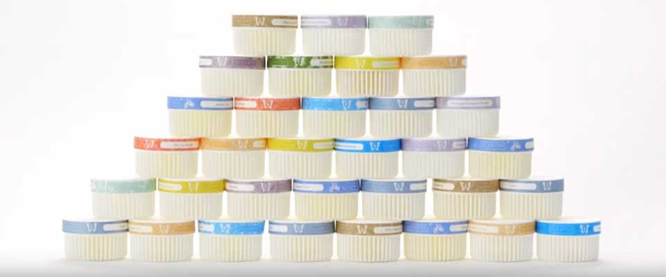 Pyramid Stack of Scentsy Scent Pods