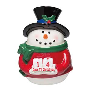Scentsy Snoman Count Down Warmer on clearance
