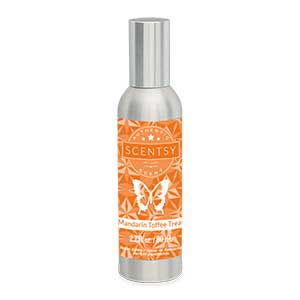 Mandarin Toffee Treat Room Spray