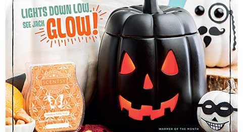 Scentsy Warmer and Scent of the Month for Sept 2017