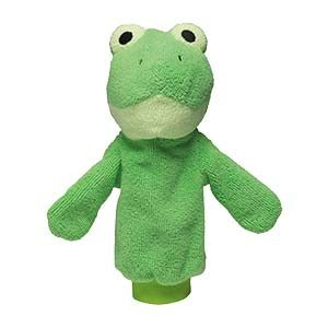 Ribbert the Frog Scrubby Buddy by Scentsy