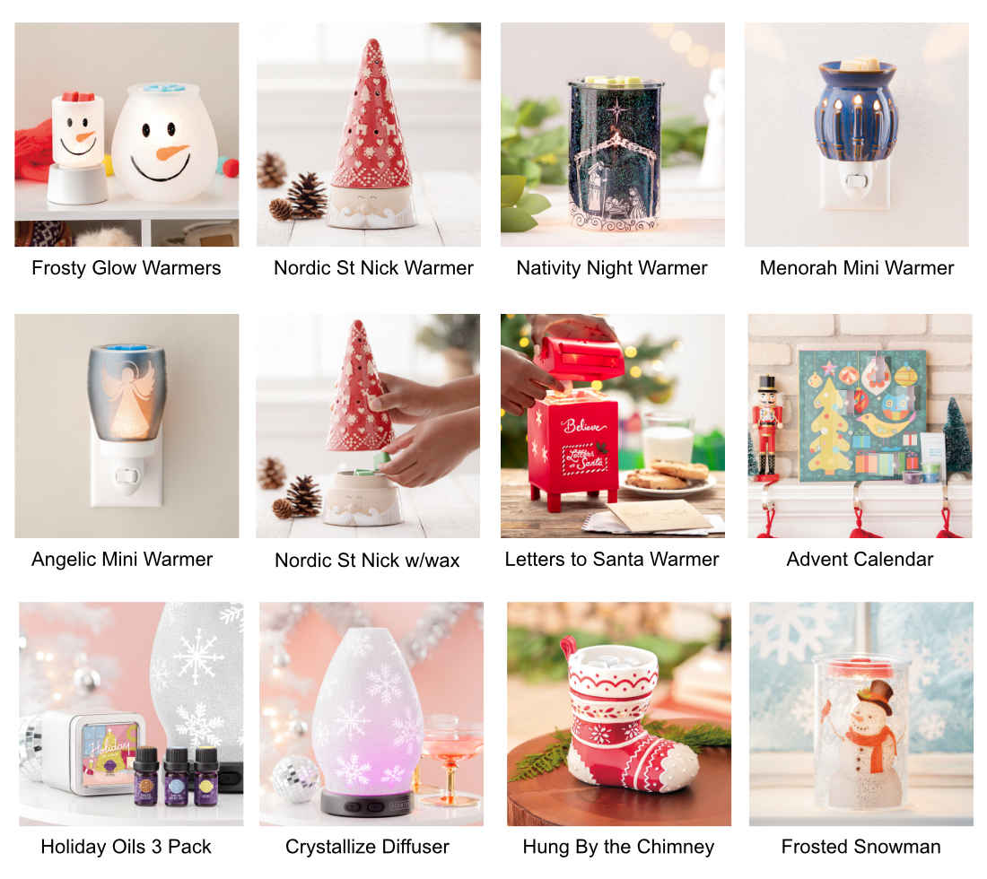 2019 Scentsy Holiday Collection