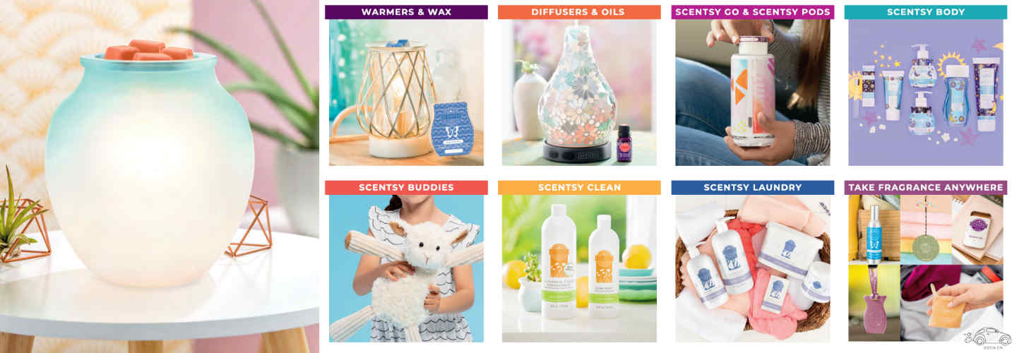 Scentsy Catalog Products 2019