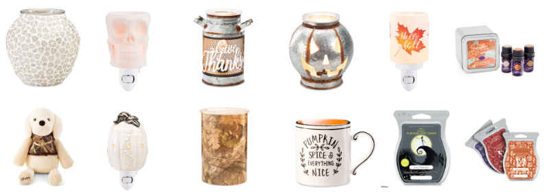 Scentsy 2019 Harvest Collection