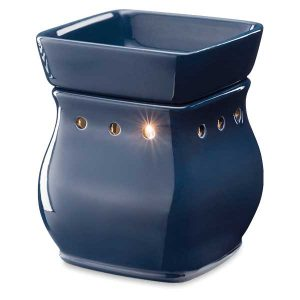 Scentsy Classic Curve Gloss Navy Warmer