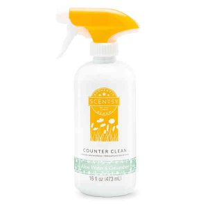 Aloe Water & Cucumber Counter Clean by Scentsy