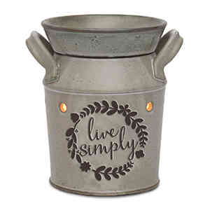Live Simply Standard Warmer By Scentsy