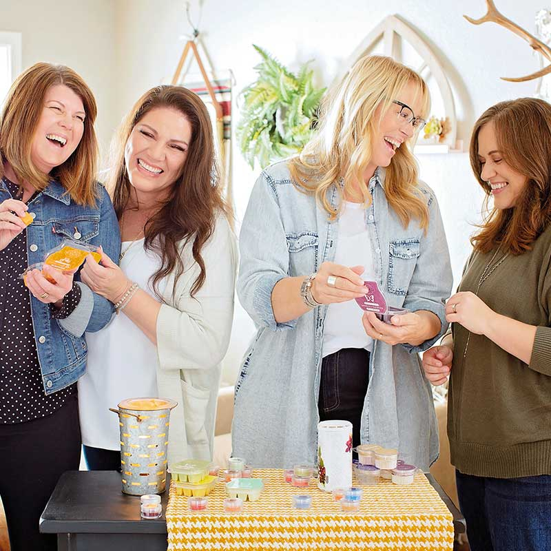 Women at Scentsy Party