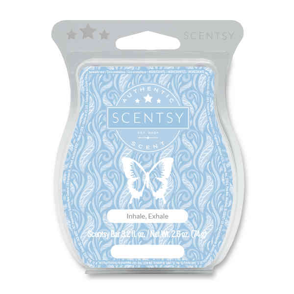 Inhale Exhale Scented Wax by Scentsy