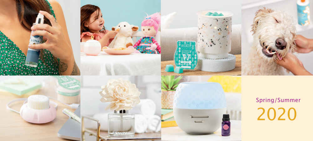 Scentsy Products for Spring of 2020
