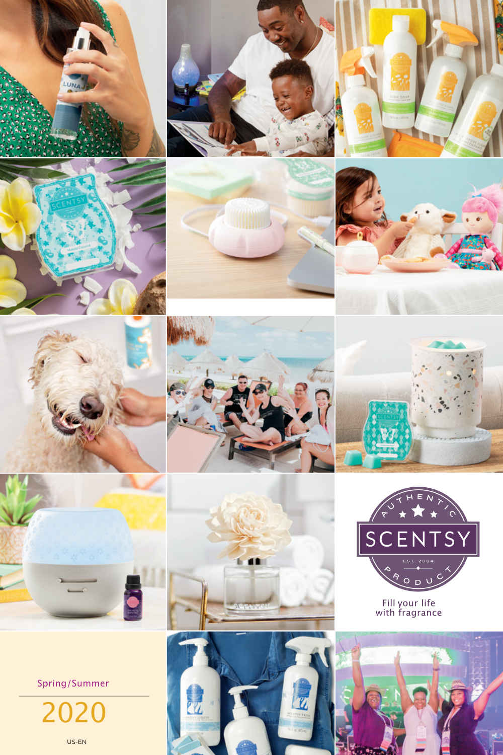 Scentsy Spring-Summer Catalog 2020 Cover