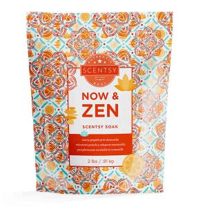 Now and Zen Bath Soak by Scentsy