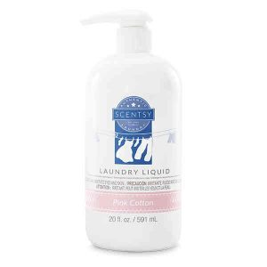 Pink Cotton Laundry Liquid By Scentsy