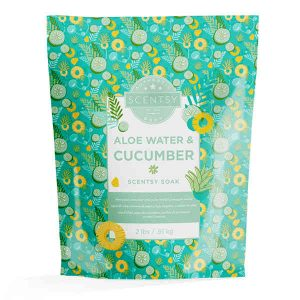 Scentsy Bath Soak Aloe Water and Cucumber
