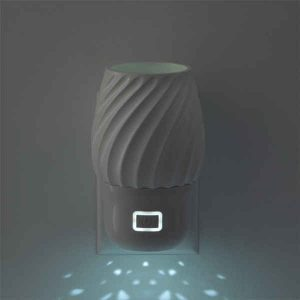 Scentsy Wall Fan Diffuser With Light Swivel