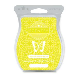 Starfruit and Pear Nectar Scentsy Bar