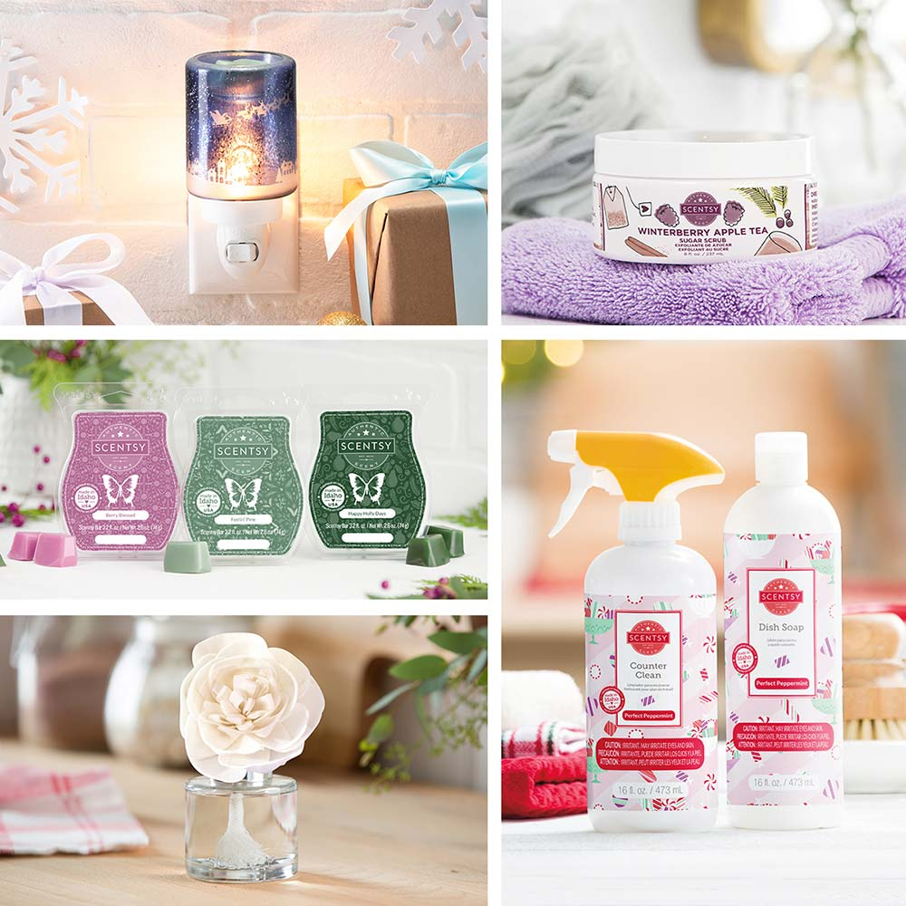 Scentsy 2020 Holiday Collection