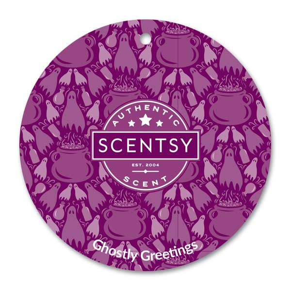 Scentsy Ghostly Greetings Scent Circle