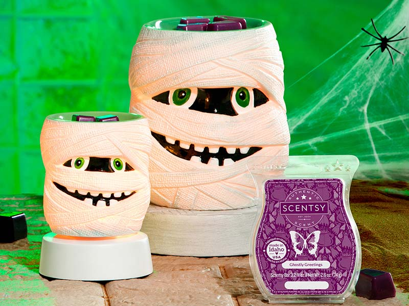 Scentsy Sept Warmers and Scent of the Month