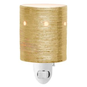Etched Core Gold Mini Warmer