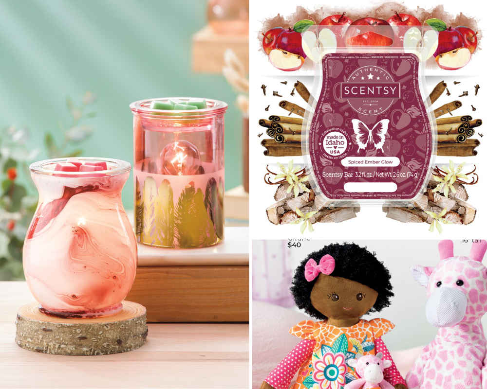 Scentsy 2021 Fall Winter Scentsy Example Products