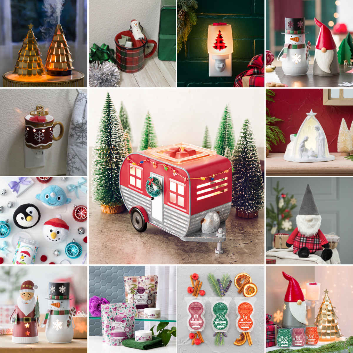 Scentsy Christmas Products 2021