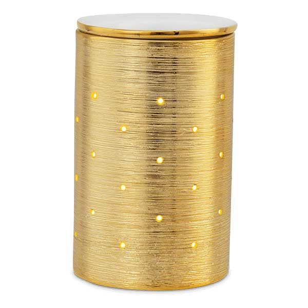 Scentsy Gold Etched Core Warmer