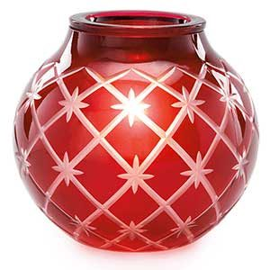 Authentic Scentsy Warmer Called Christmas Glow